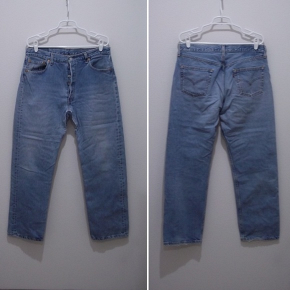 e956bd1e2d8a8 Vintage Levis 501 Jeans Red Tab USA Made 1924